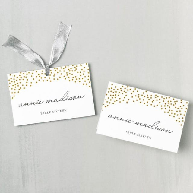 Einladung Printable Place Card Template Weddbook