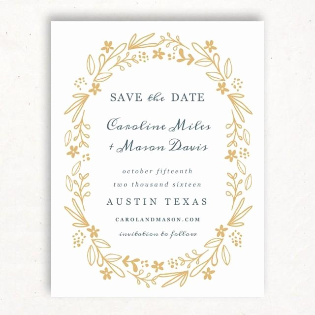 Einladung Printable Save the Date Template