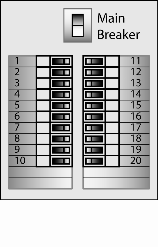 Electrical Box Label Template to Pin On Pinterest