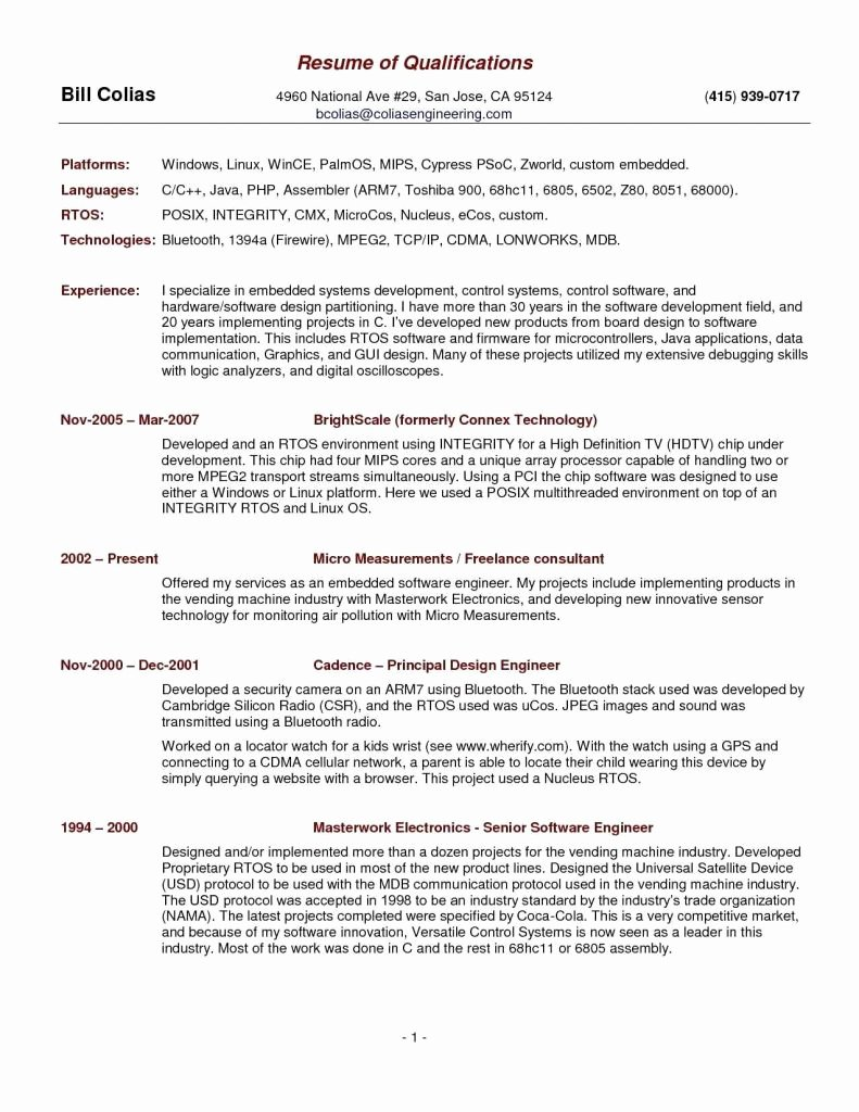 Elegant Audio Visual Technician Resume Sample