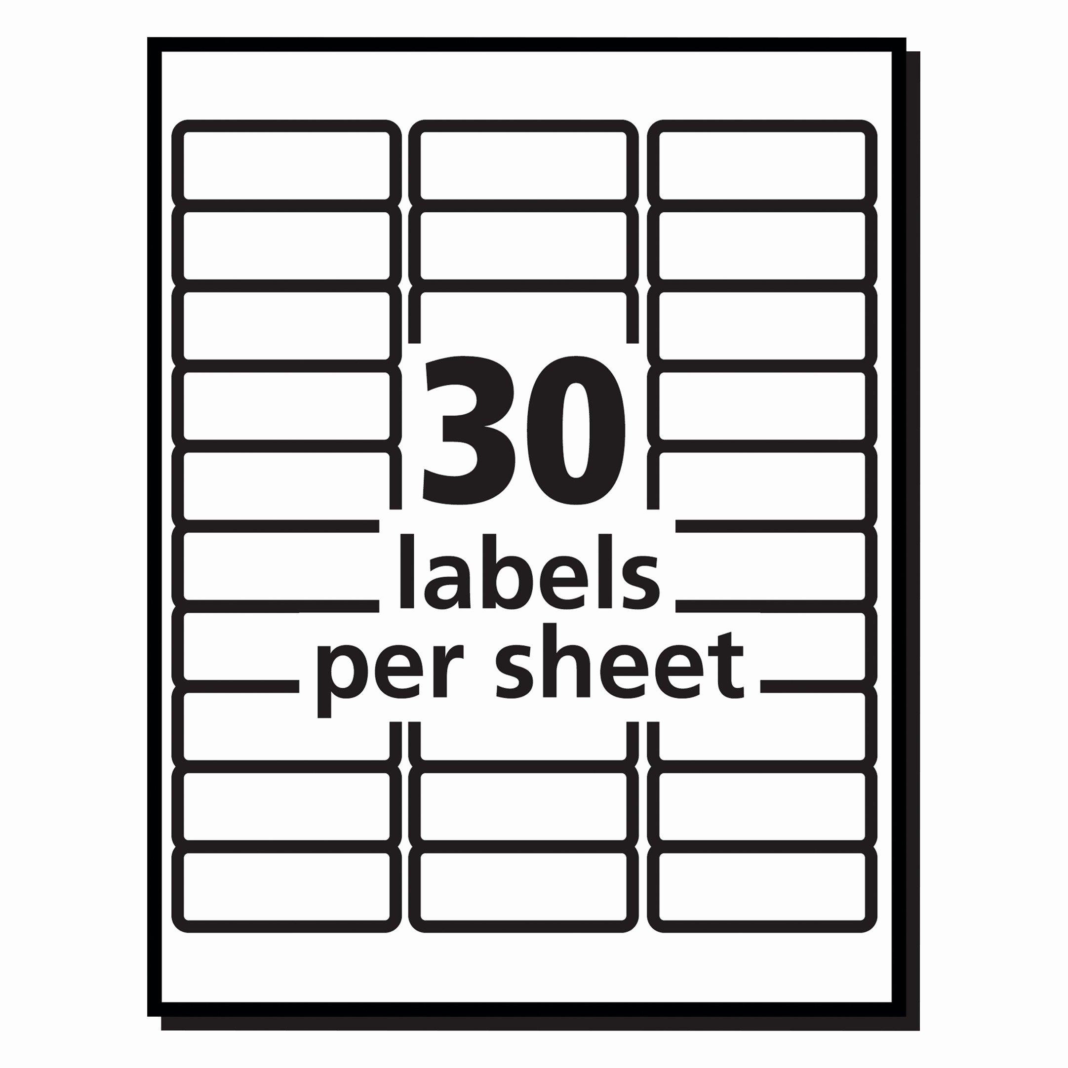 Elegant Free Printable Return Address Labels