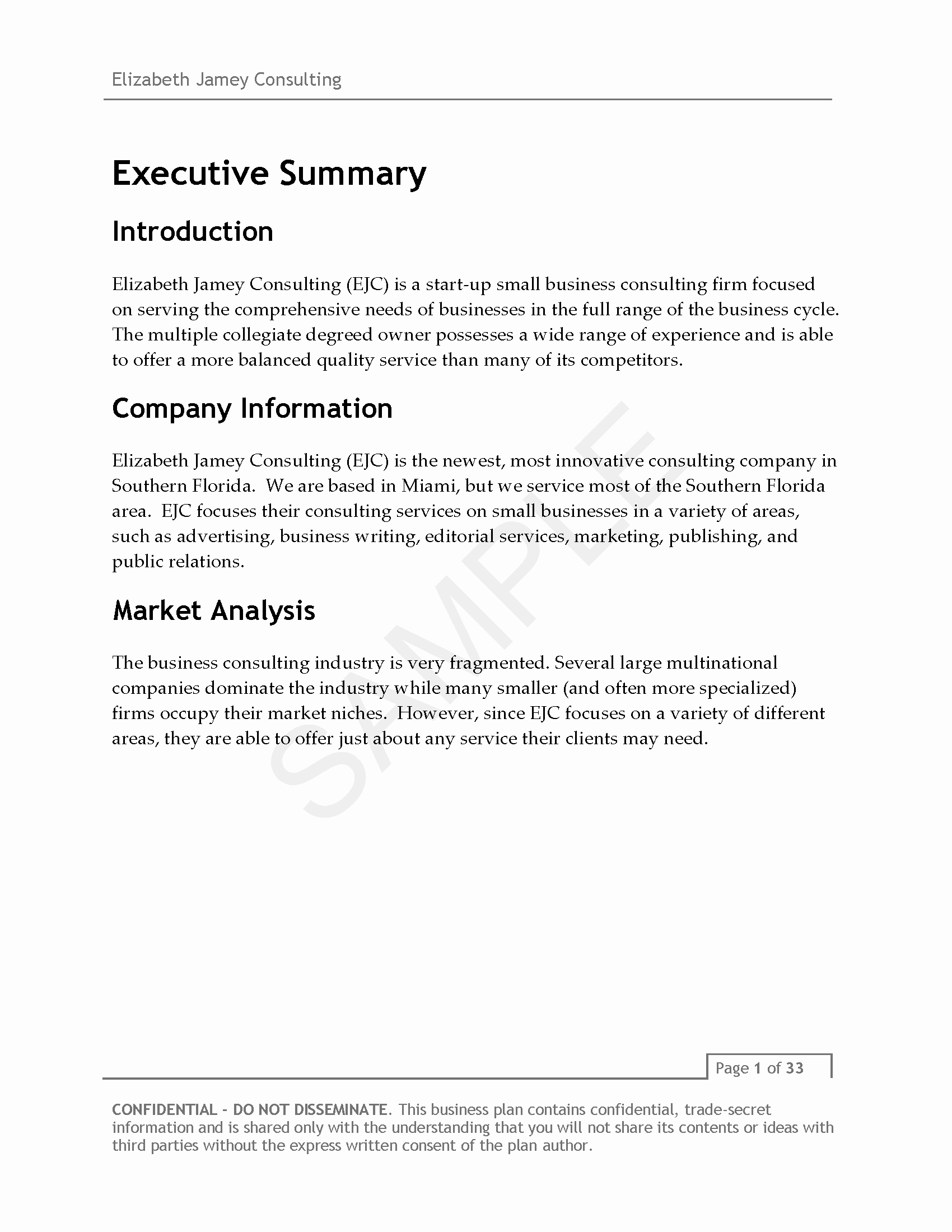 Elizabeth Jamey Consulting Business Plan V3 Page 04