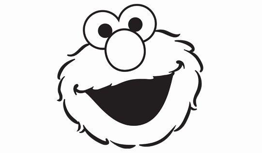 Elmo Face Coloring Page Lil Nug Levi Pinterest