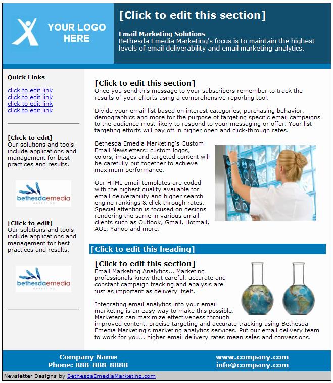 Email Newsletter Design Newsletter software Newsletter