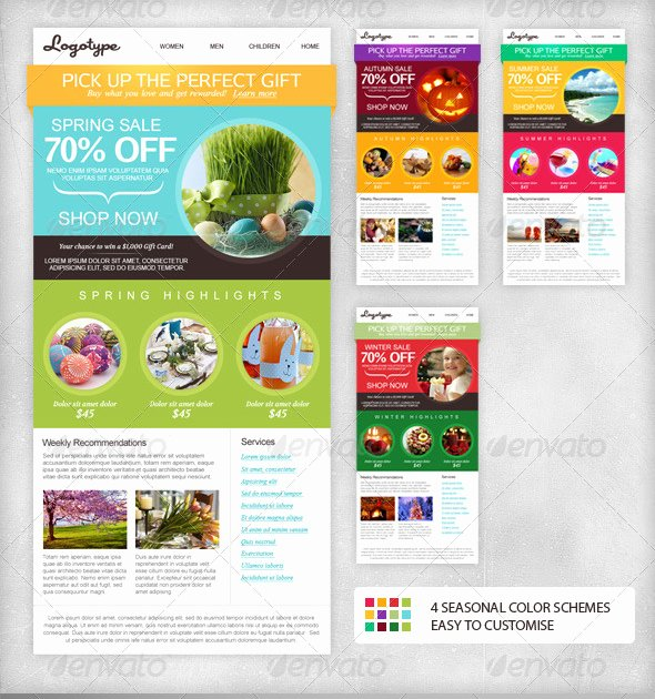 Email Newsletter Template Indesign Templates Resume