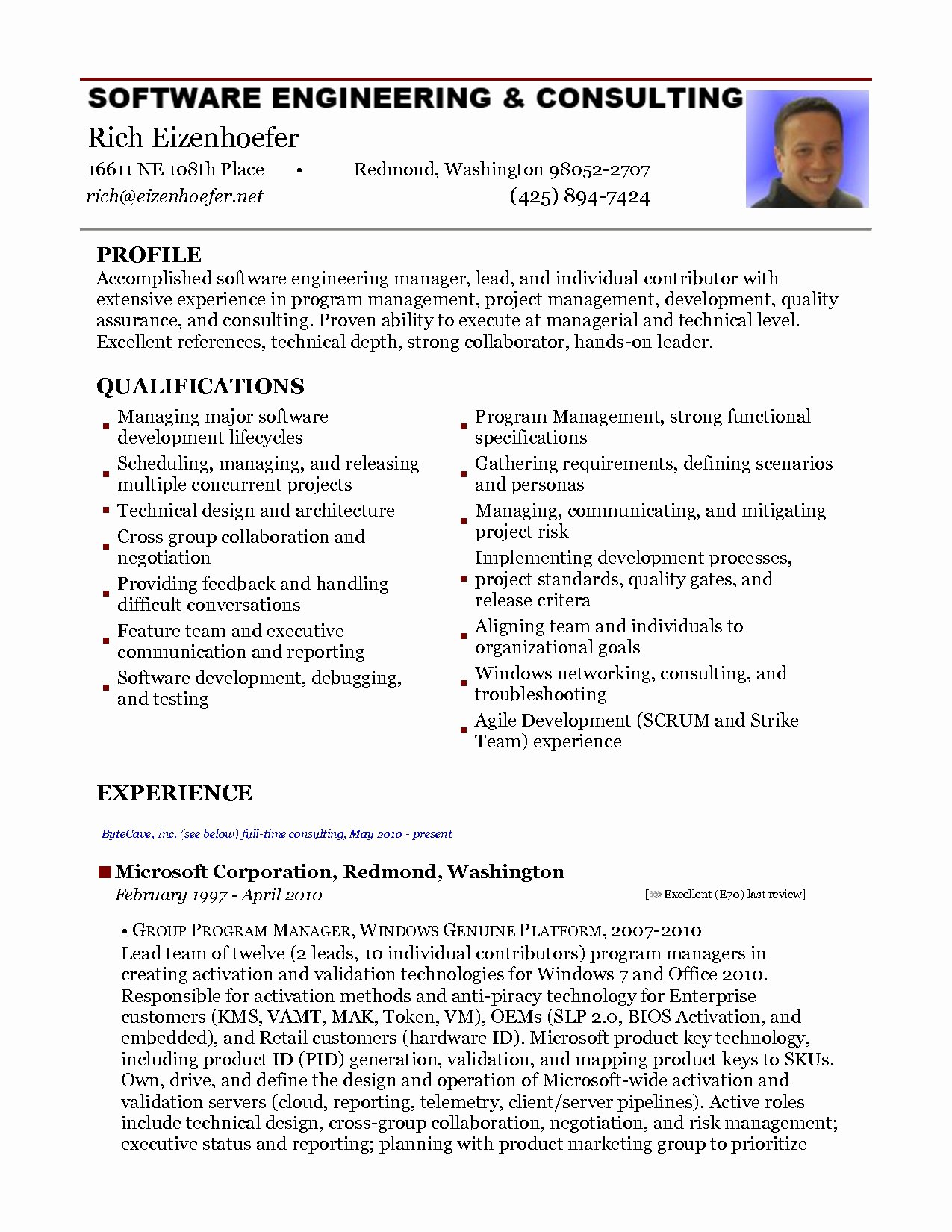 Embedded software Engineer Resume Resume Ideas