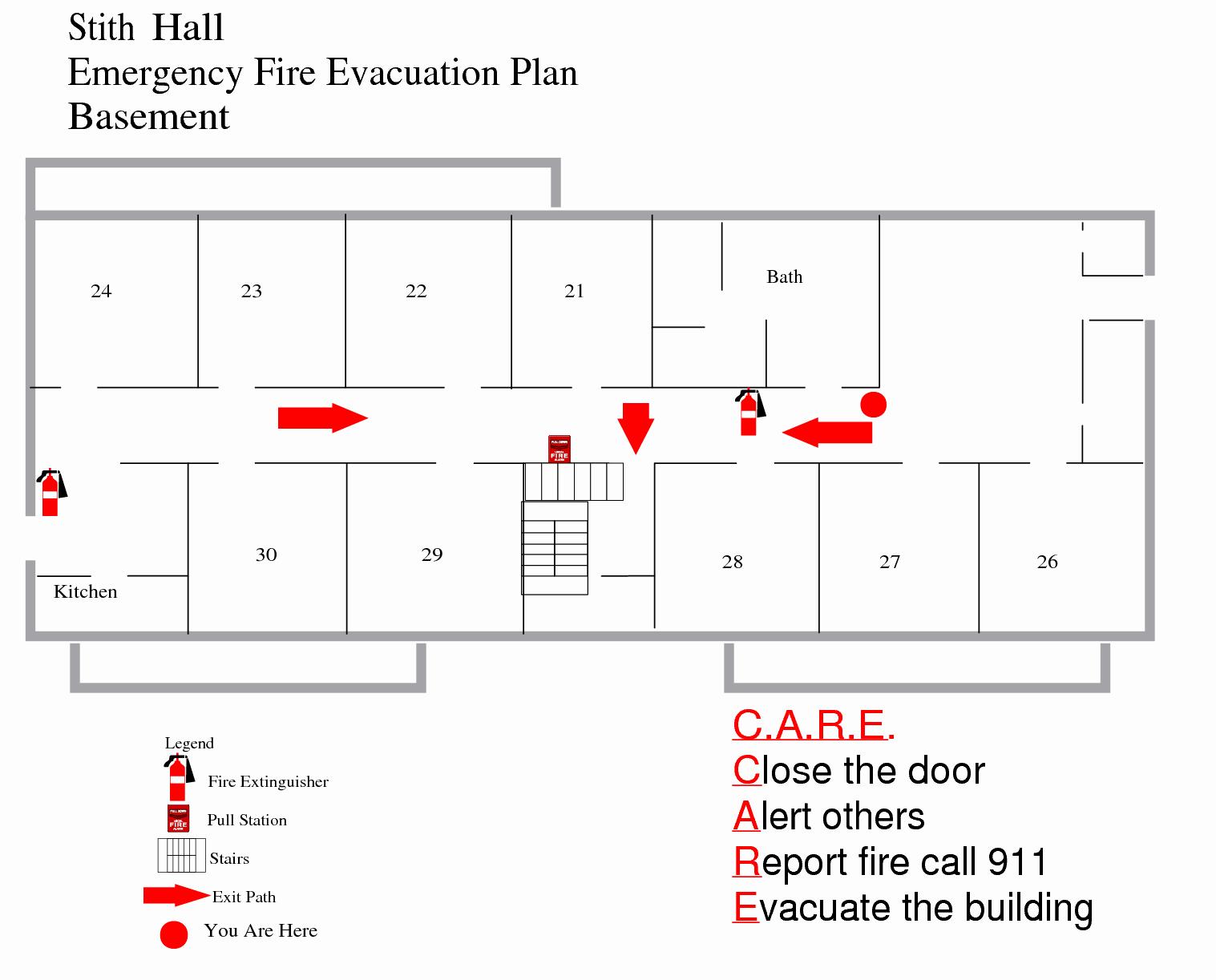 Emergency Evacuation Procedure Sample Electrical Schematic
