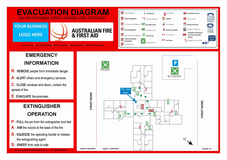 Emergency Evacuation Template Australia Templates