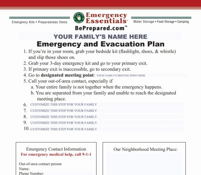 Emergency Evacuation Template Map Templates Resume
