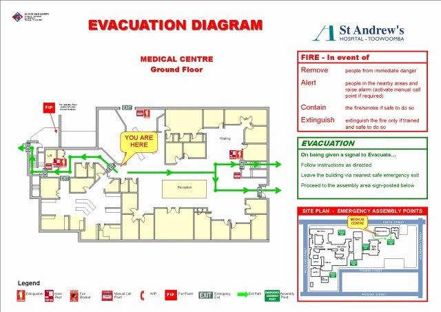 Emergency Exit Diagram Templates Emergency Escape Maps