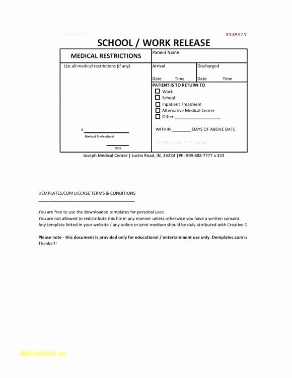 Emergency Room Discharge Papers Template Free – ifa Rennes