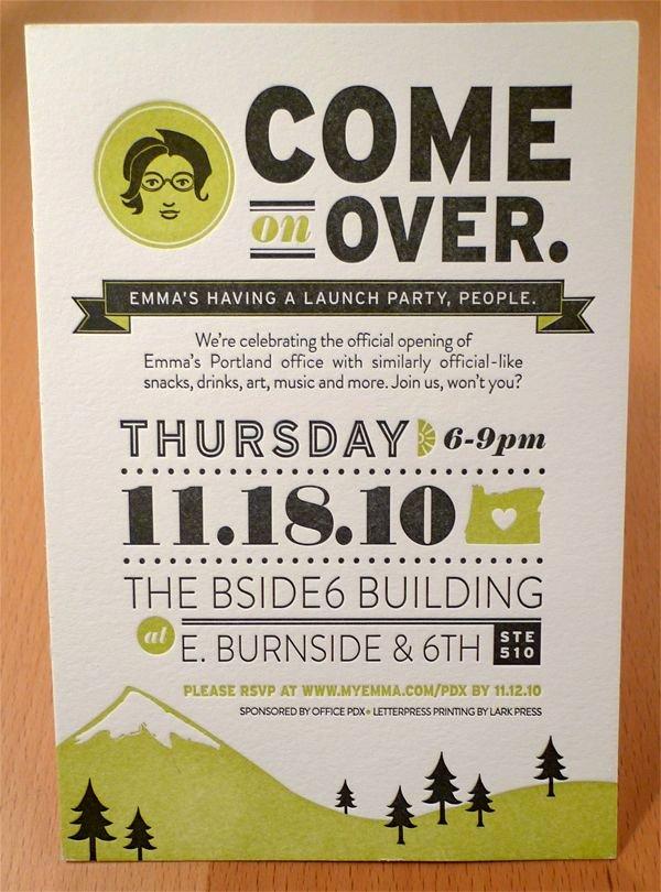 Emma Inc Portland Open House by Allison Davis Via