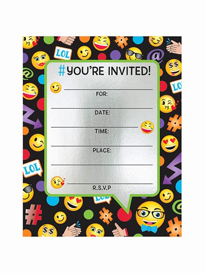 picture relating to Printable Emoji Birthday Invitations called Emoji Birthday Invites Birthday Printable Latter