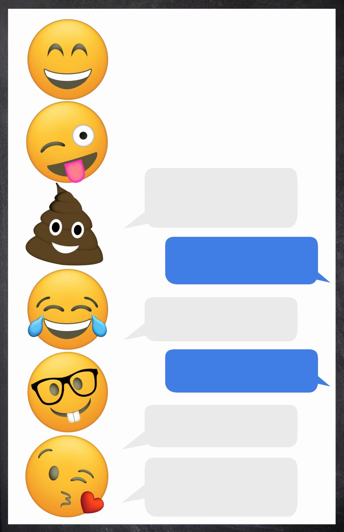 Emoji Birthday Invitations Free Printable Template Paper