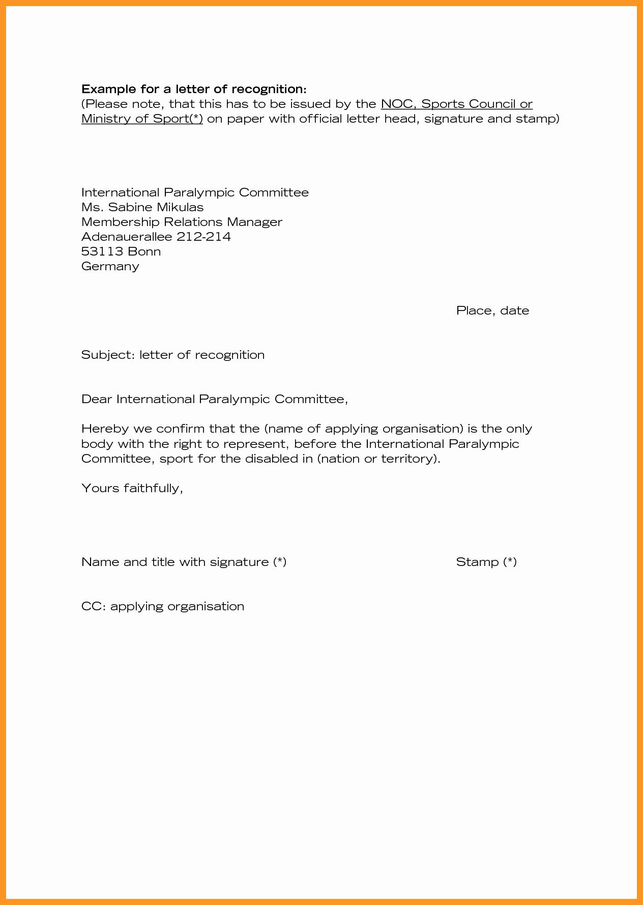 Employee Appreciation Letter Sample