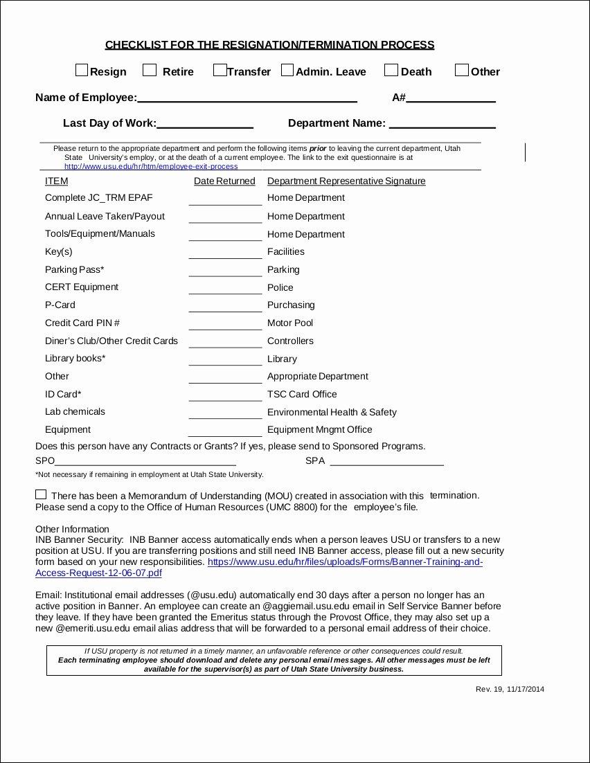 Employee File Checklist Hospiiseworks