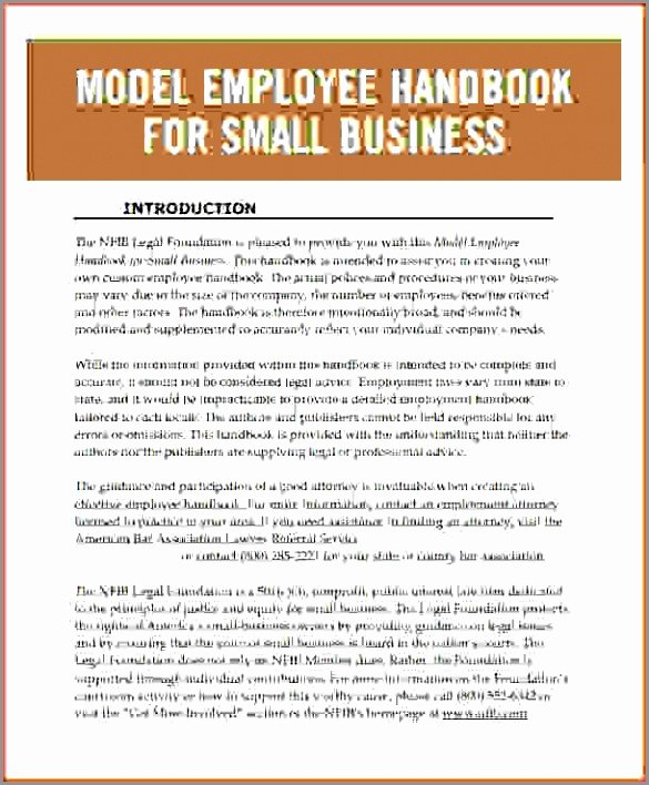 Employee Handbook Template Magnificent Pics – Studiootb