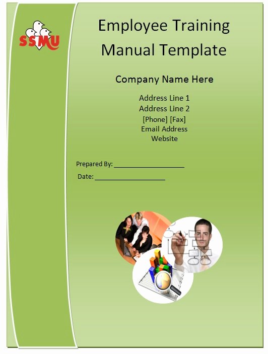 Employee Training Manual Template Guide Help Steps