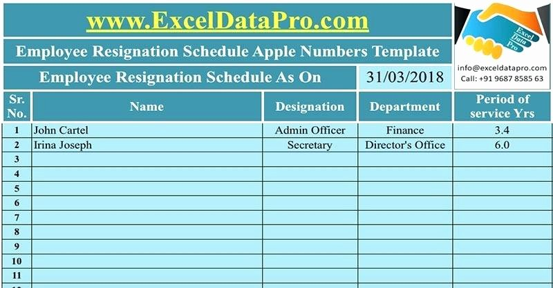Employees Can Use This Expenses Template Numbers Expense