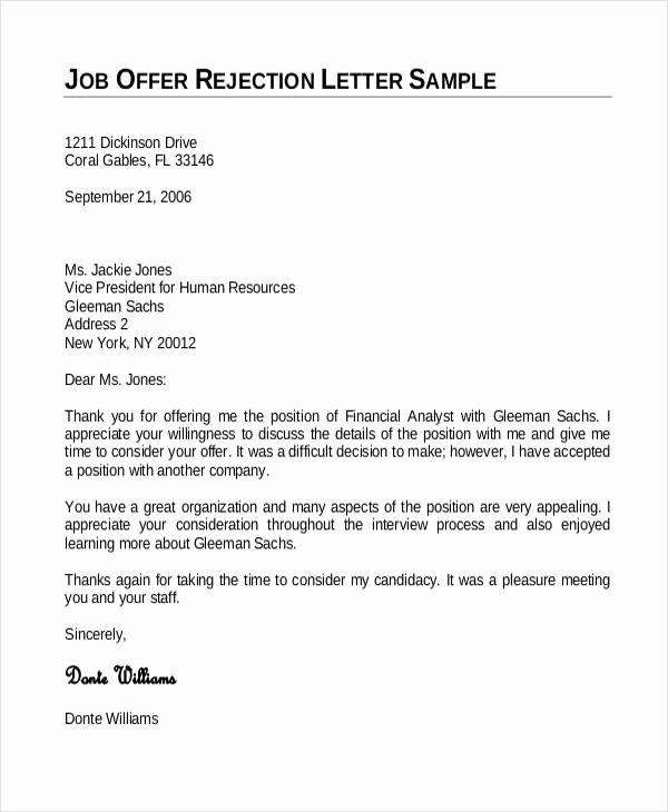 Employment Fer Letter Template 6 Free Word Pdf