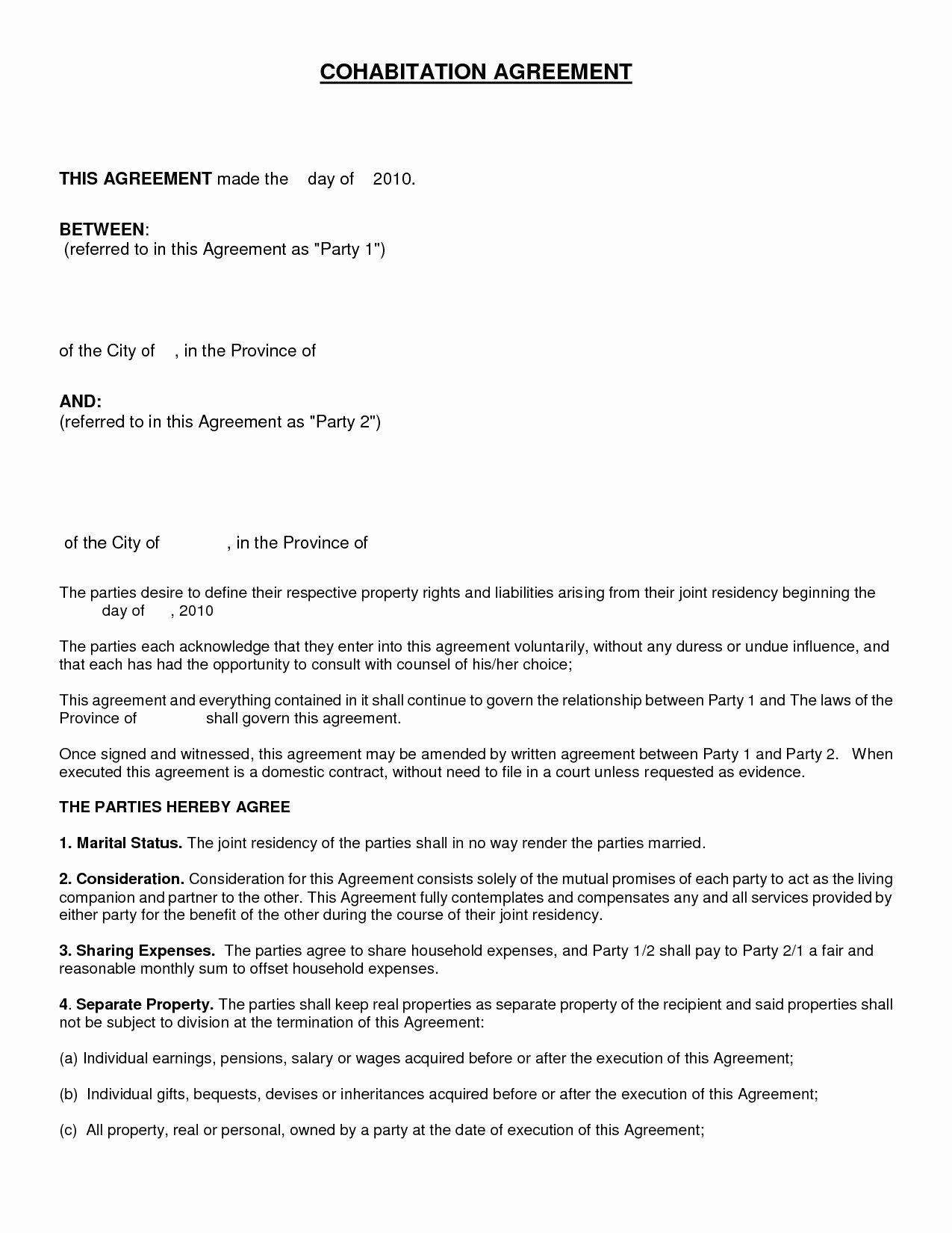 Employment Separation Agreement Template Template