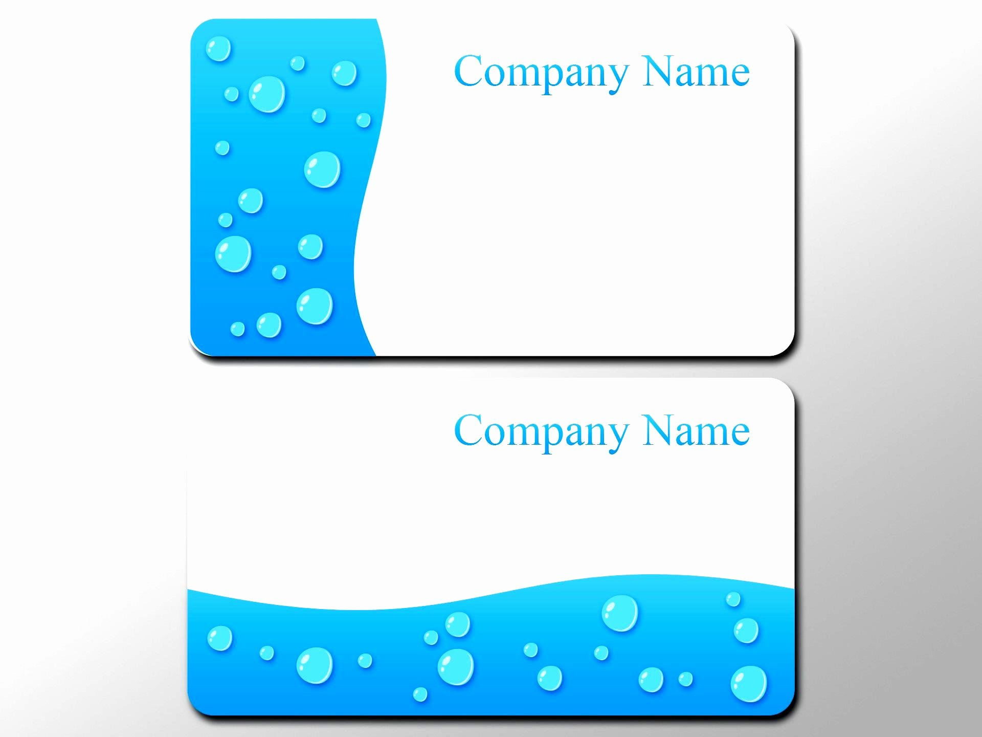 Empty Business Card Template Templates Collections
