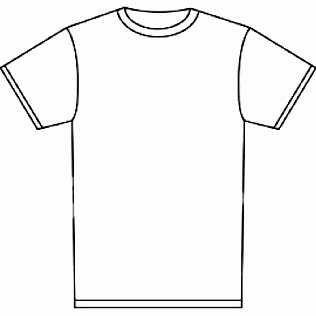 Empty T Shirt Template