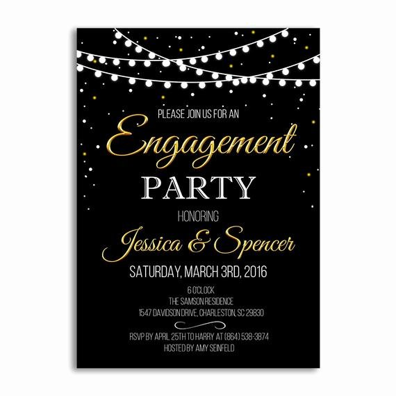 Engagement Party Invitation Engagement Party Ideas Wedding