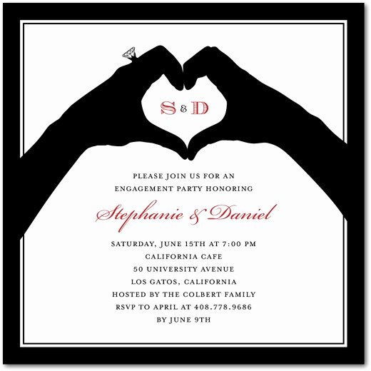 Engagement Party Invitation Wording Affordable