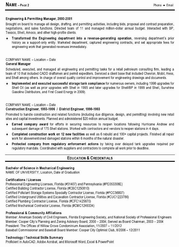 Engineering Manager Resume F Resume