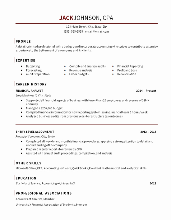 Entry Level Accountant