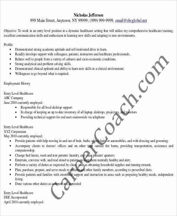 Entry Level Administrative assistant Resume – 7 Free Pdf
