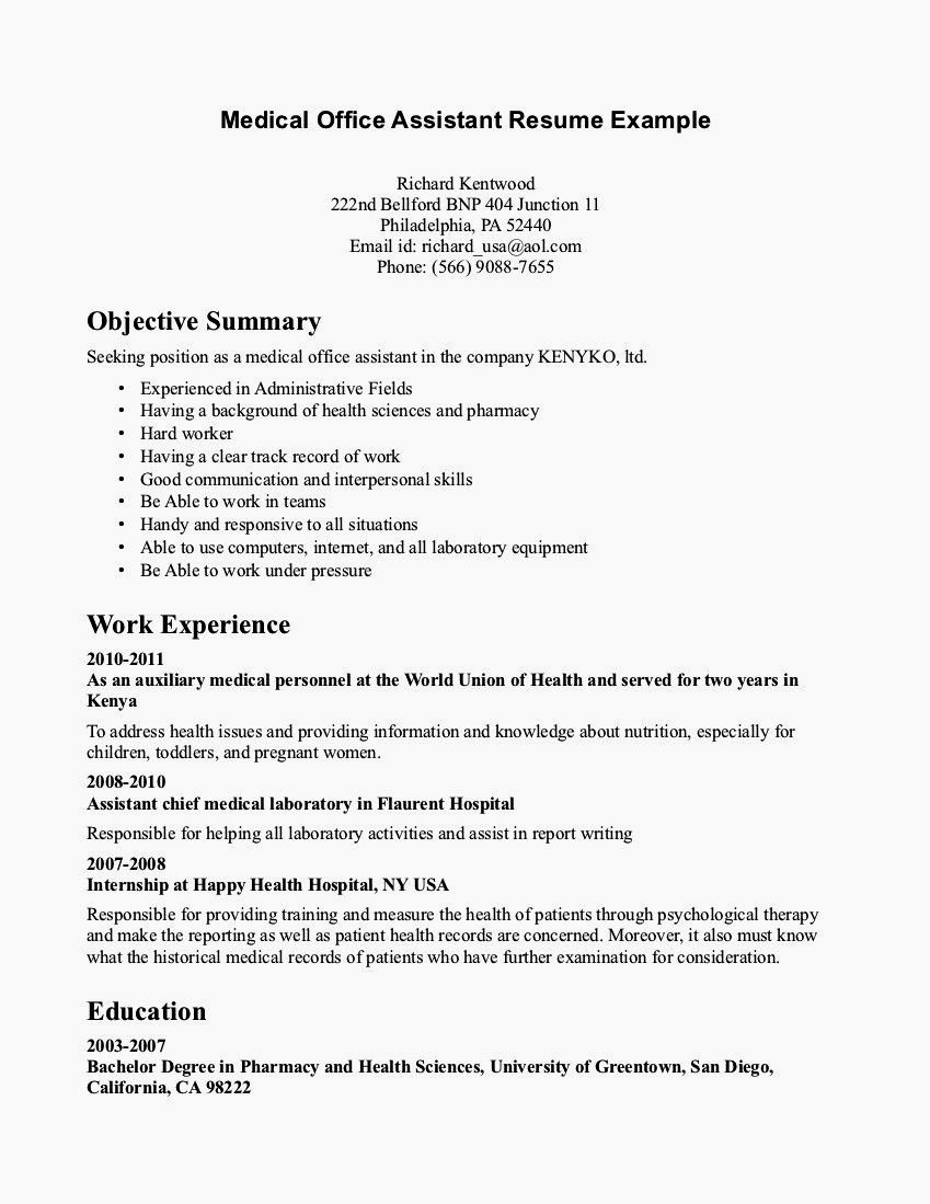 Entry Level Cnc Resume No Experience