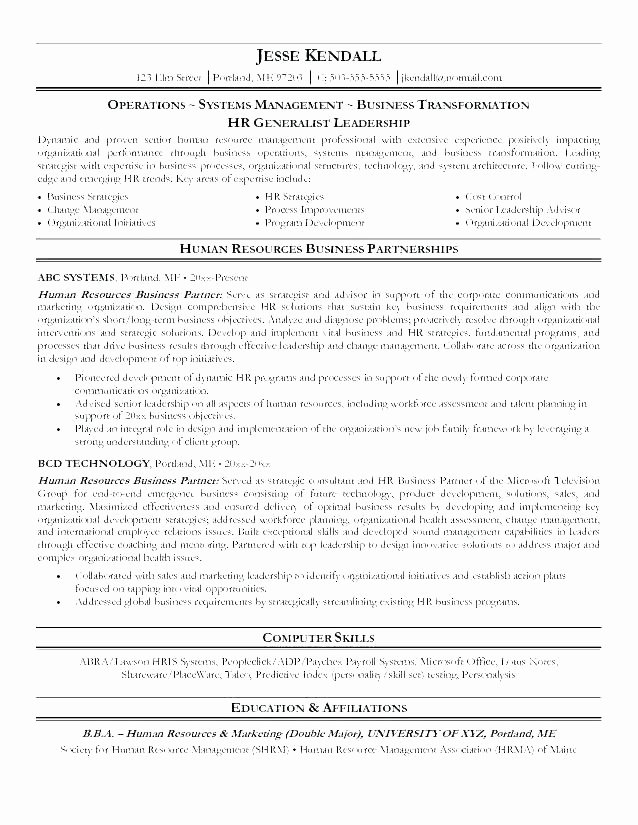Entry Level Human Resource Resume Nmdnconference