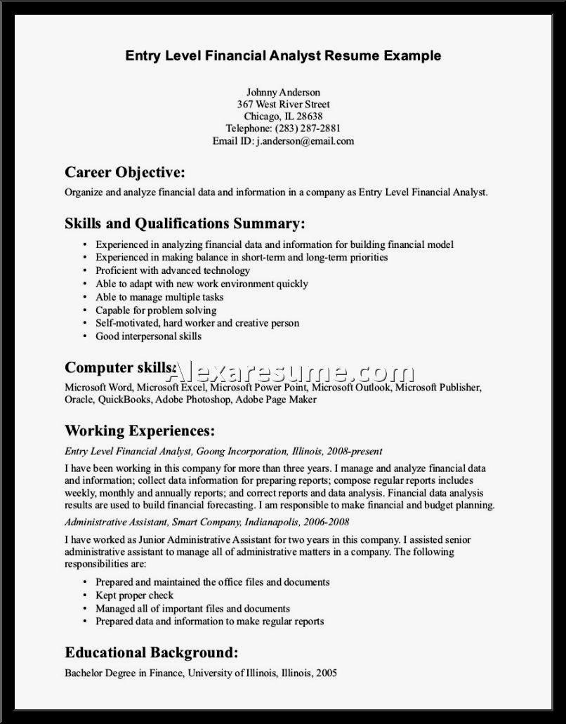 Entry Level Irrigation General Laborer Resume Sample