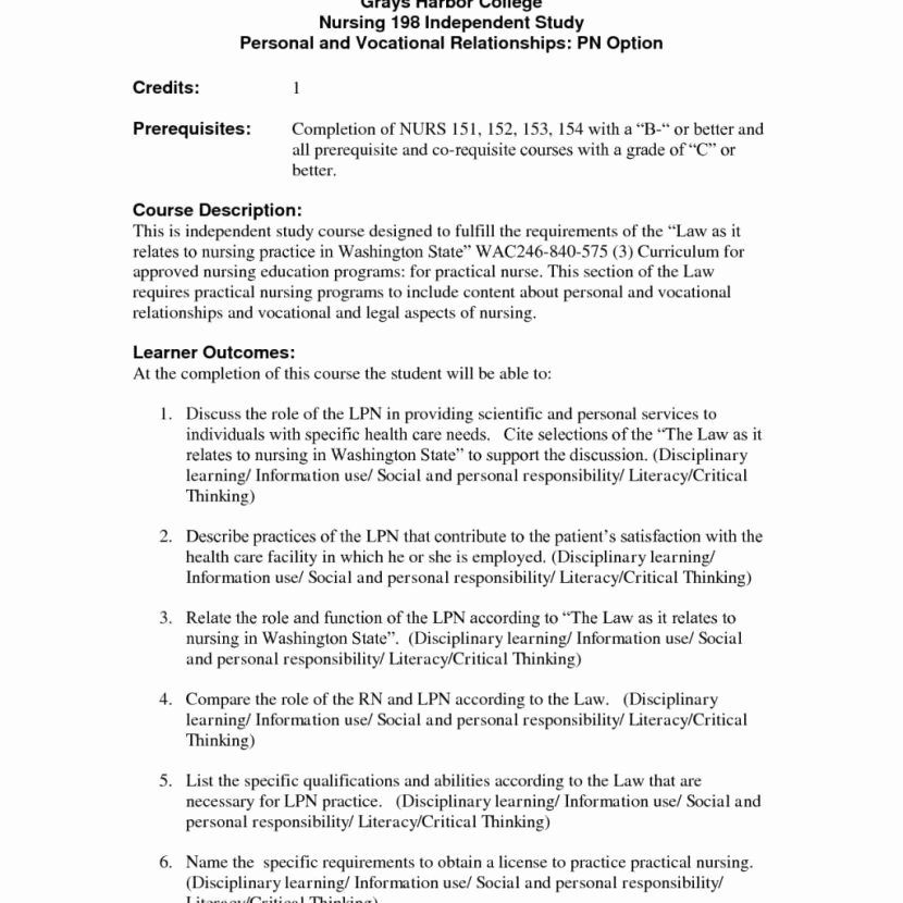 Entry Level Lpn Resume No Experience