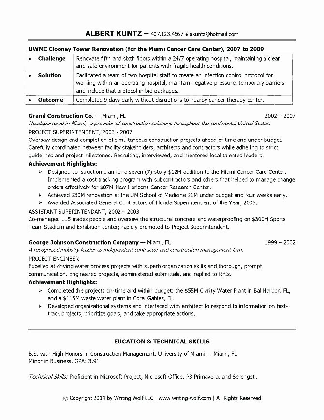 Entry Level Project Manager Resume Entry Level Project