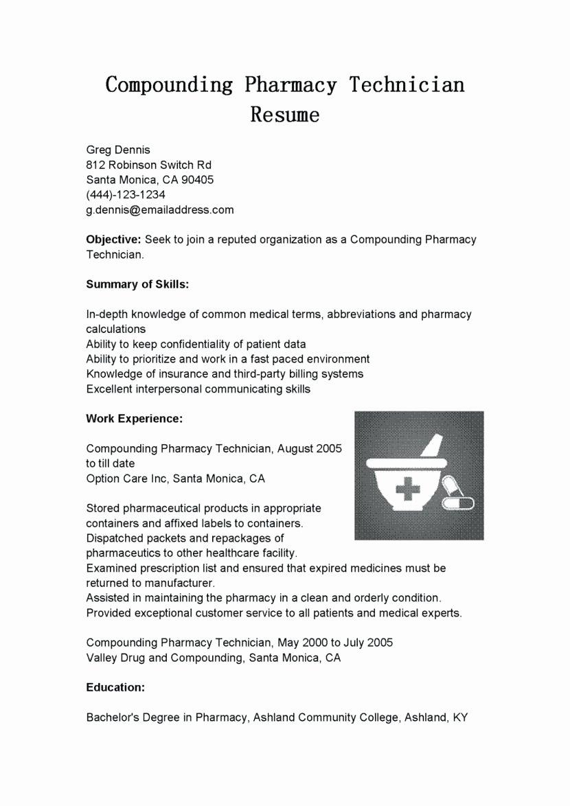 Entry Level Puter Technician Resume It Technician Job