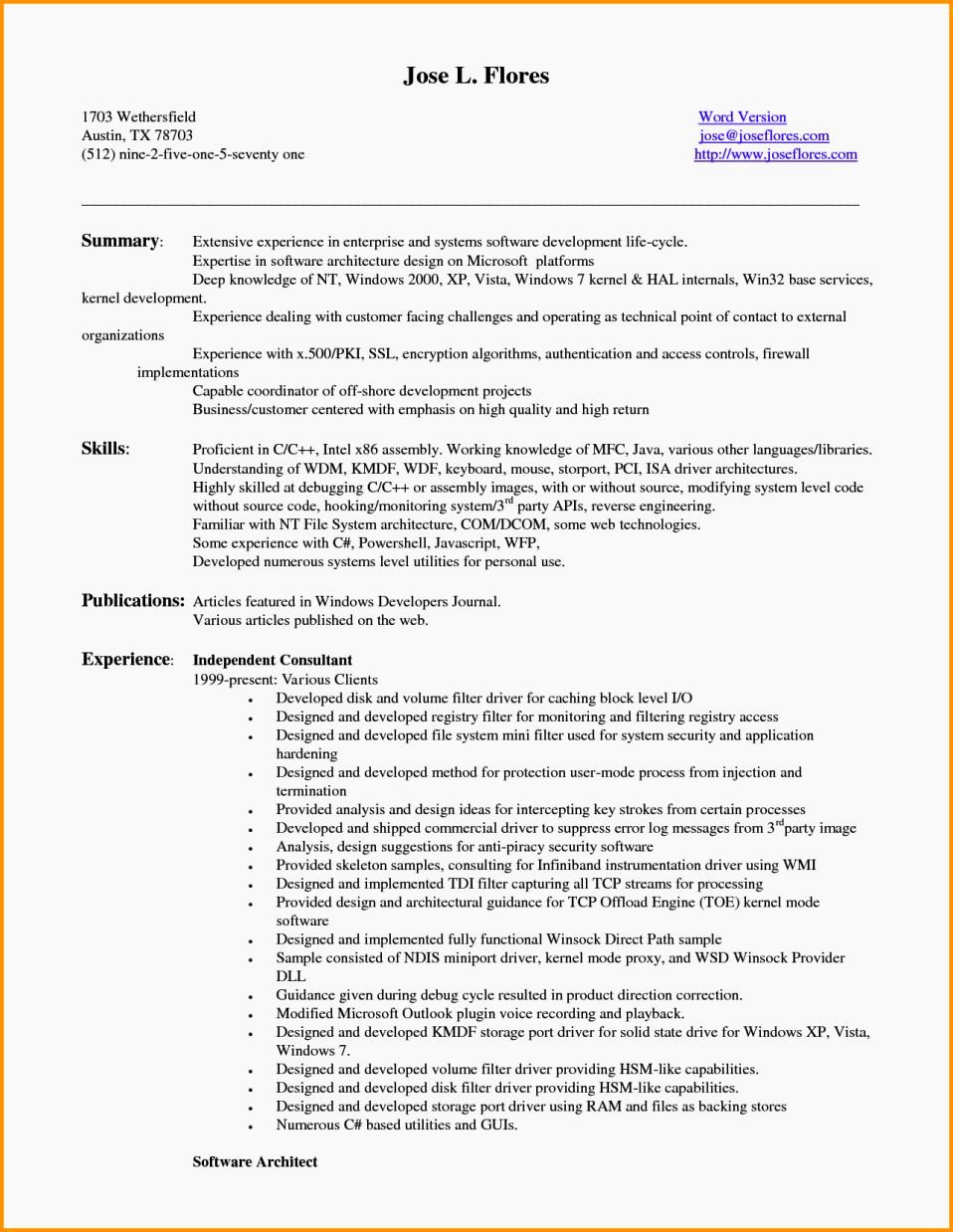 Entry Level Resume Summary Examples
