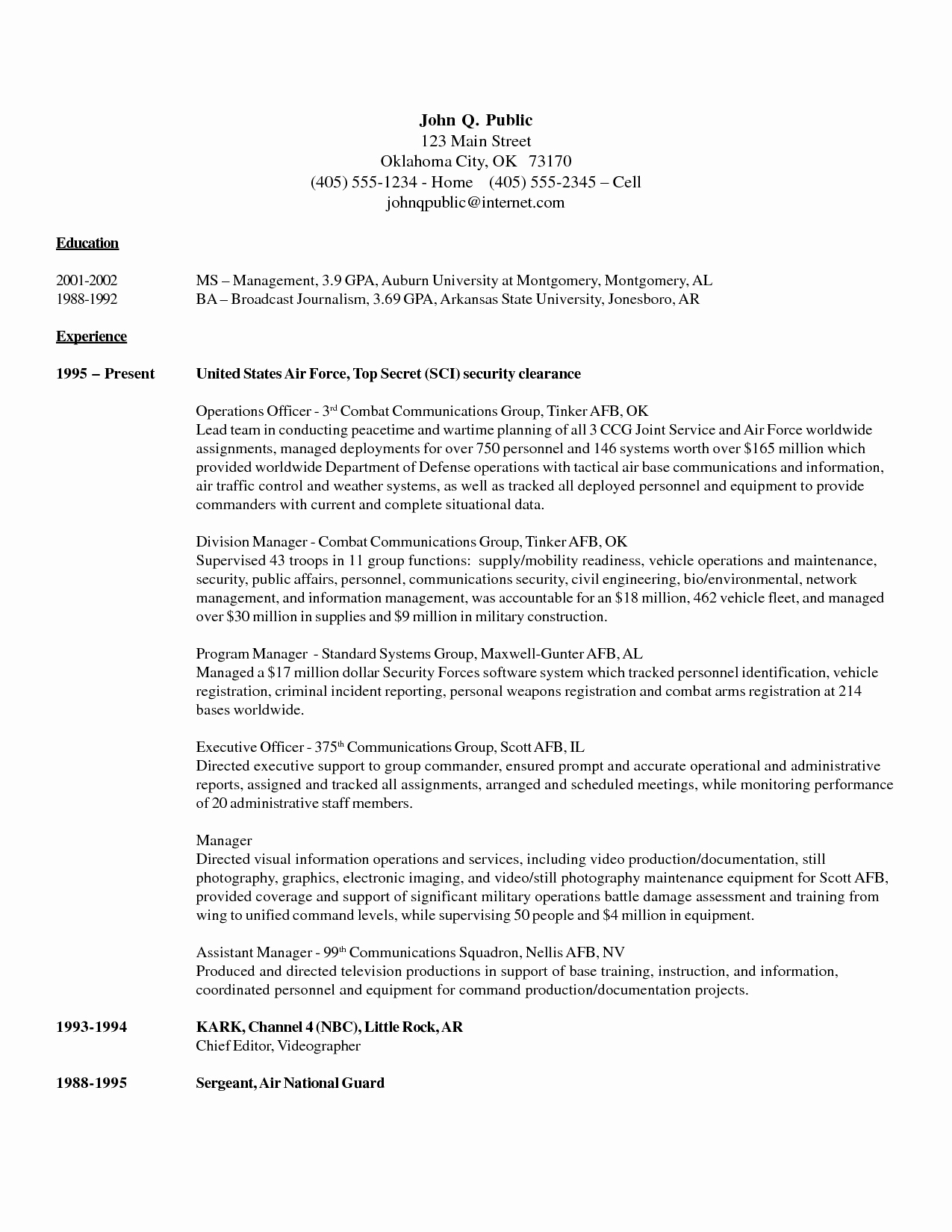 Entry Level Security Ficer Cover Letter Sample