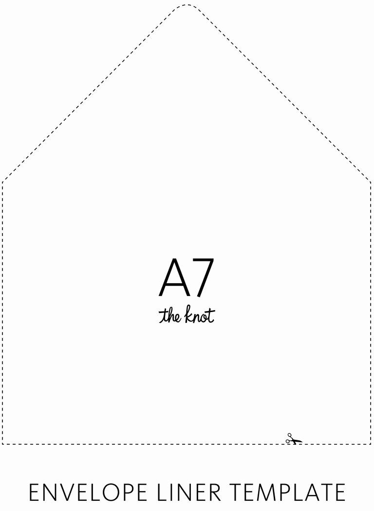 Envelope A9 Envelope Template