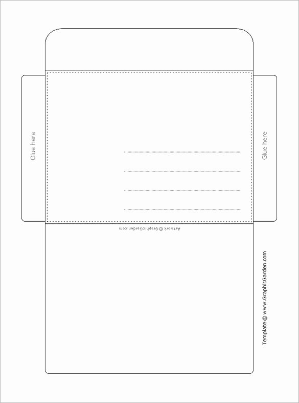 Envelope Template 37 Free Printable Psd Pdf Eps Word