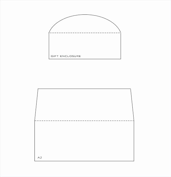 Envelope Template Word Example A2 Microsoft 2010