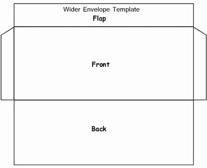 Envelope Templates Printable A4 Templates Resume