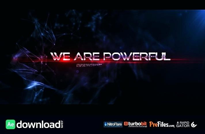 Epic Cinematic Trailer after Effects Templates Template
