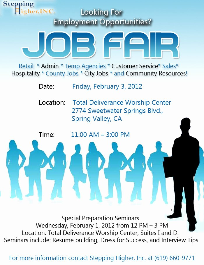Epping Higher Job Fair Ephens Cathedral Church and Psd