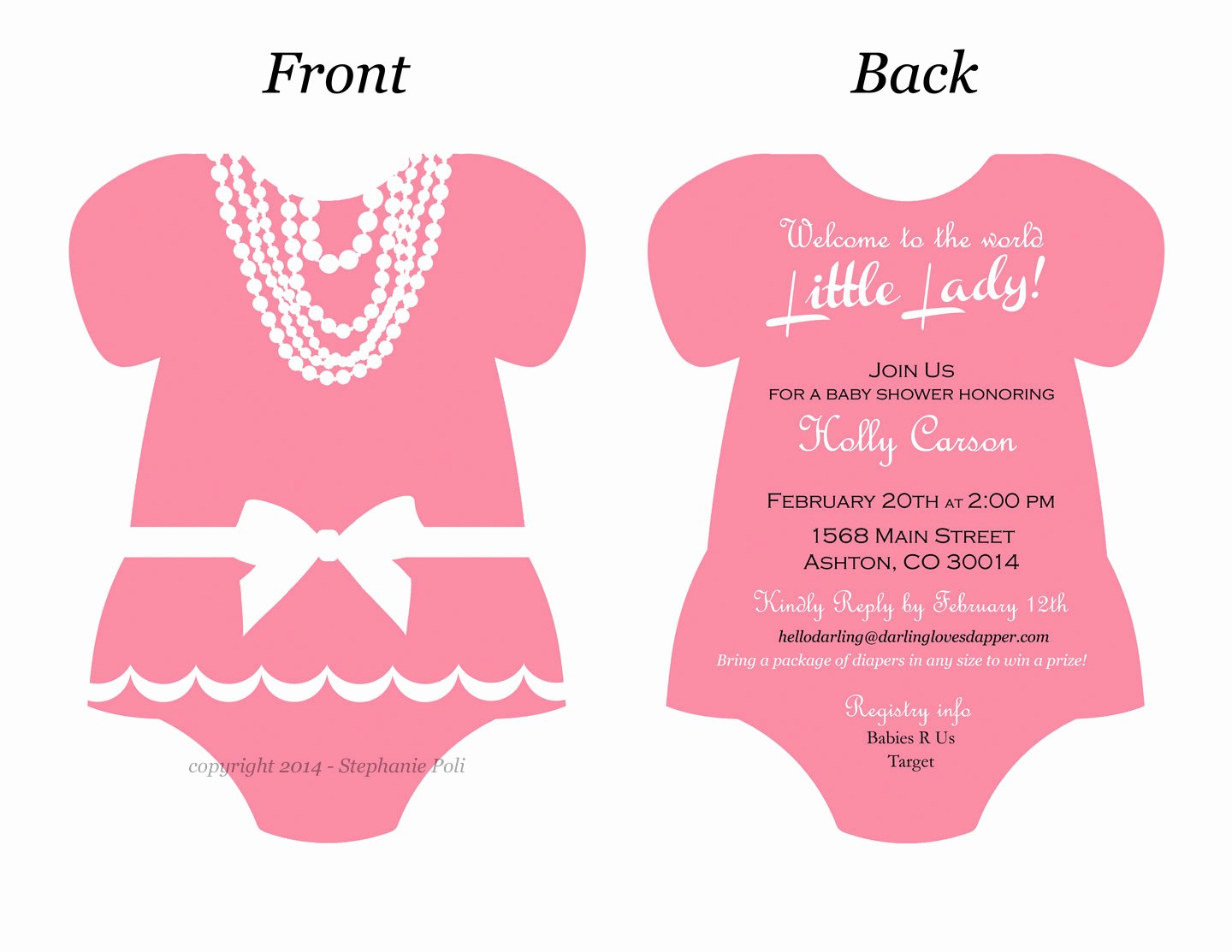 Esie Invitation Templates