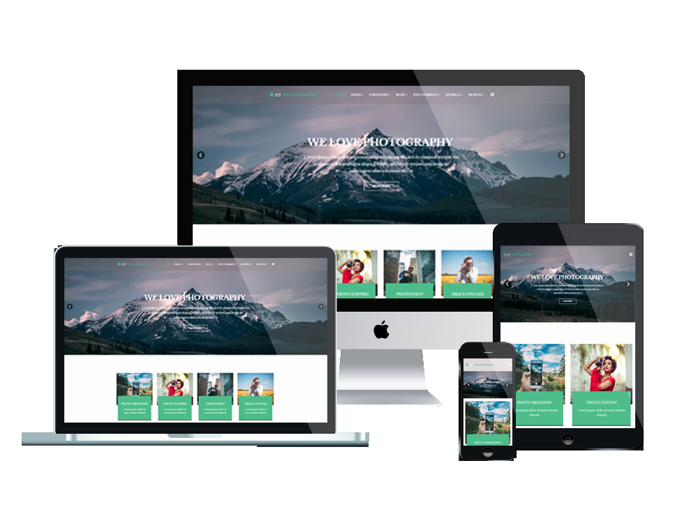 Et Graphy – Free Responsive Joomla Graphy Template