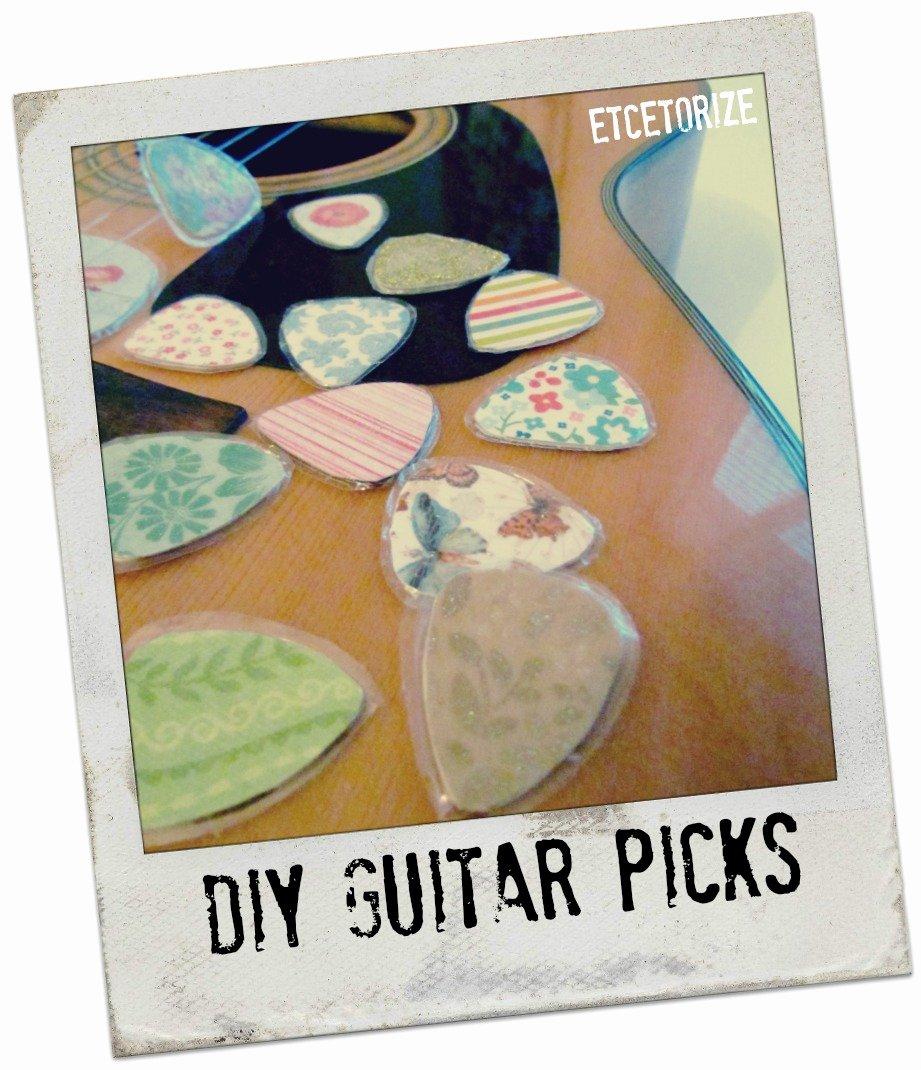 Etcetorize Diy Guitar Picks