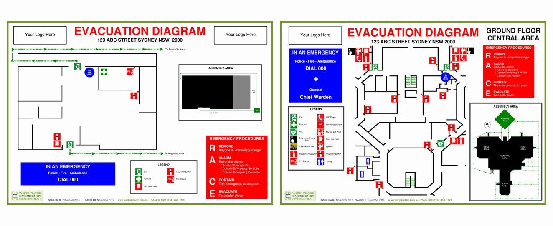 Evacuation Plan Template Nsw Templates Resume Examples